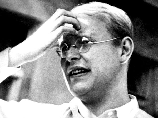 O pastor luterano Dietrich Bonhoeffer, martirizado na II Guerra.