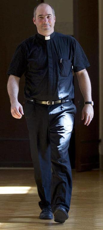Massimo Palombella, diretor do coro da Capela Sistina desde 2010. Foto: Andrew Medichini/AP
