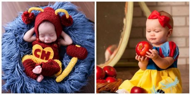 30 ideias de fotos divertidas para fazer no book do seu bebê