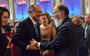 Alckmin e Edir Macedo