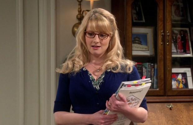 Cena da personagem Bernadette, em The Big Bang Theory.