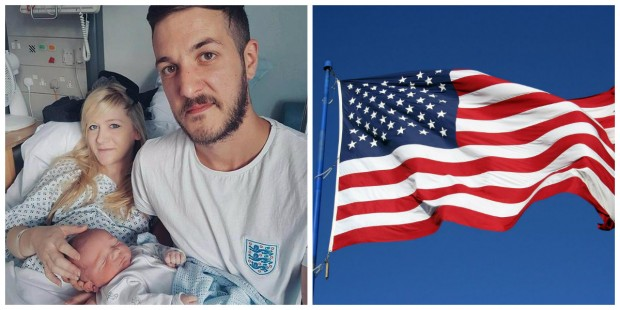 Charlie Gard: EUA concede visto de residência permanente ao bebê e aos pais