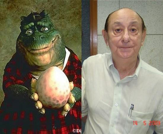 José Santa Cruz, era a voz de Dino. Foto: Reprodução