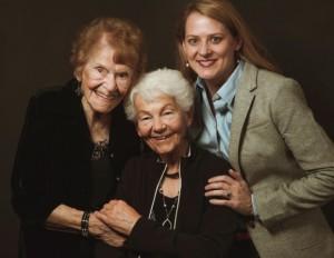 Minka Disbrow, Ruth Lee e Cathy LaGrow (foto: divulgação).