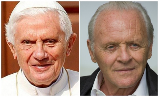 Bento XVI e Anthony Hopkins