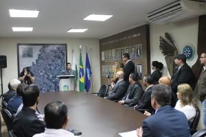 Sanção da lei que criou o Semana de Valorização da Vida e da Família em São José dos Pinhais (PR).