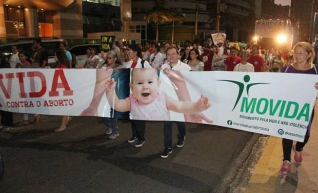 Foto: divulgação/Marcha pela Vida de Fortaleza