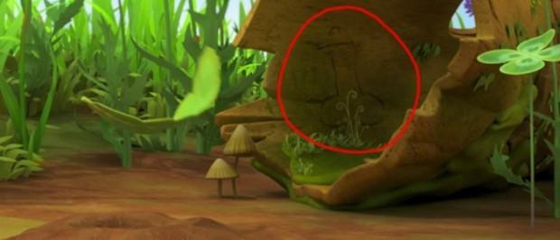 Frame do episódio em que a imagem de um pênis era exibida às crianças.