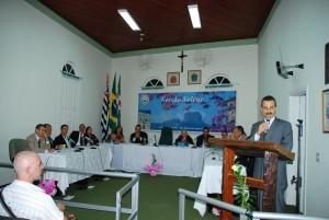 Sessão solene que aprovou a lei pró-vida em São Bento do Sapucaí (SP), em 2010.