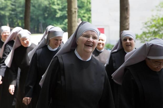 Irmãs da congregação Irmãzinhas dos Pobres, grupo religioso que venceu Obama na justiça em 2016. (foto: divulgação/Little Sister of the Poor)