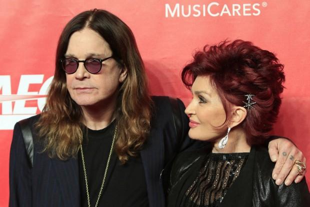 Ozzy Osbourne e Sharon Arden
