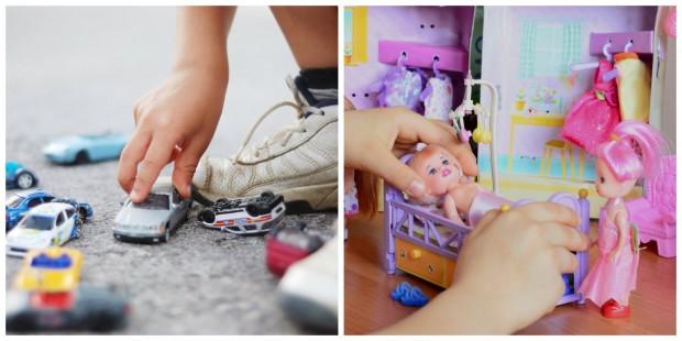 ENQUETE: Você acha que existem brinquedos de meninos e brinquedos de meninas?