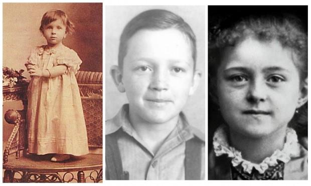15 fotos de santos quando eram crianças