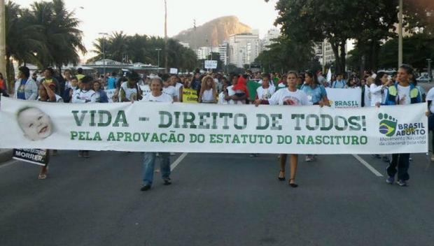 Divulgação/Marcha pela Vida-RJ