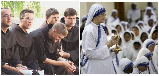 Quais são as maiores ordens e congregações católicas do mundo?