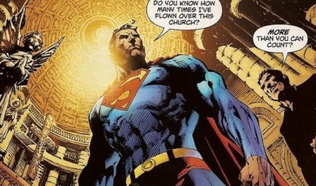 superman - igreja