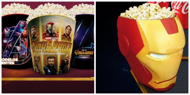 """Os brindes que você pode """"ganhar"""" ao assistir o novo filme dos Vingadores com seus filhos"""