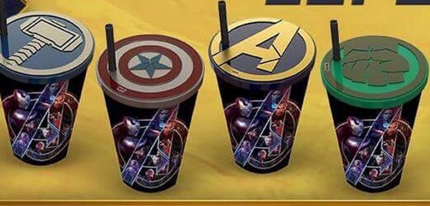 Como conseguir esses copos exclusivos do novo filme dos Vingadores