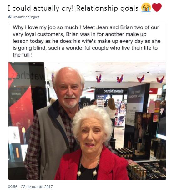 idosos maquiagem