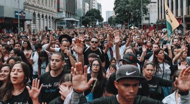 Marcha para Jesus 2017, em Curitiba (foto: divulgação).