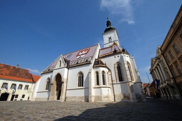 Uma igreja do século XIII em Zagreb, a capital croata. (Bigstock)