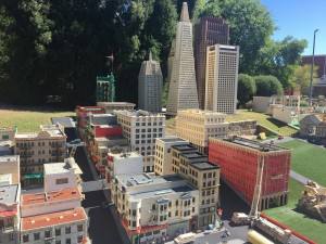Mini cidade na Legoland