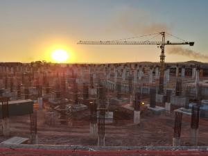 Em construção desde 2012, o complexo do novo santuário terá uma área construída de 124 mil metros quadrados – o equivalente ao Maracanã. Foto: Felipe Koller