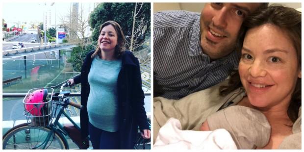 A ministra de estado que foi de bicicleta até hospital para dar à luz