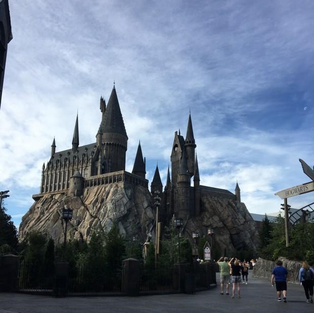 Crédito: Arquivo Pessoal - Castelo do Harry Potter - Island of Adventures