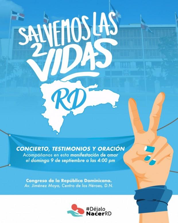 Salvemos las 2 vidas - Rep Dominicana
