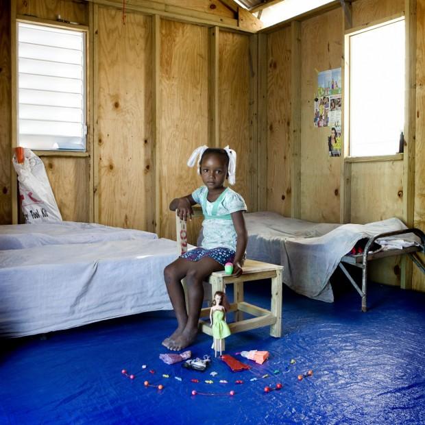 Bethsaida, de Porto Príncipe, no Haiti, tem 6 anos.