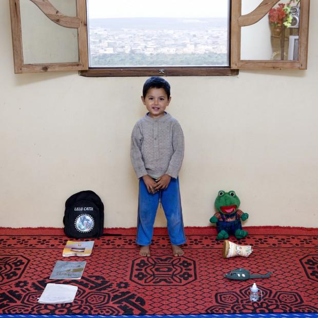 Norden tem 5 anos e vive em Massa, no Marrocos.