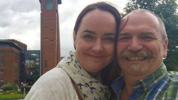 Gary e Joy (foto: arquivo pessoal).