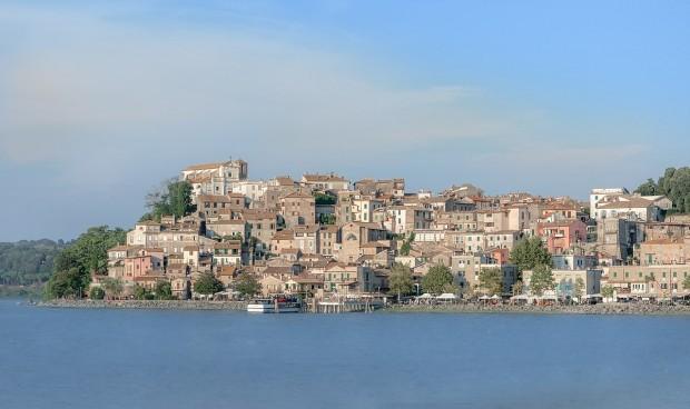 Vista de Anguillara, na região de Vêneto, Itália. Foto: Wikimedia Commons