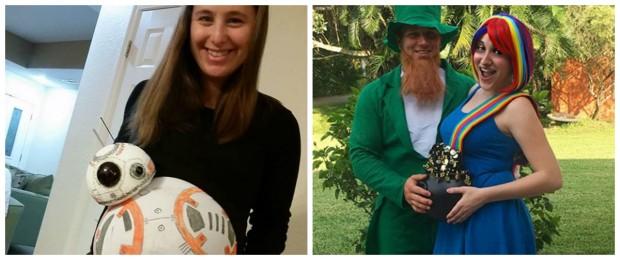 7 fantasias divertidas de Halloween para grávidas