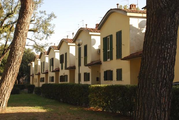 O Isolotto, bairro de casas populares criado por La Pira. Foto: Commons/Cyberuly