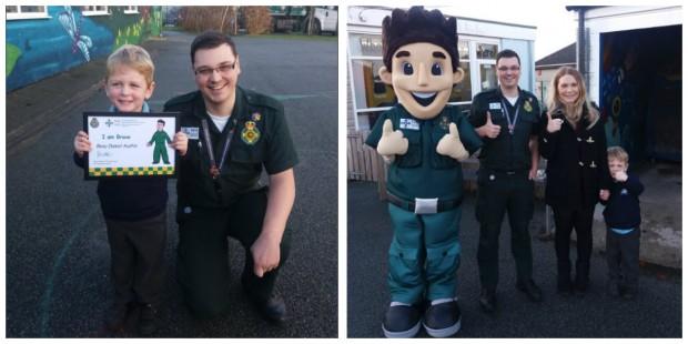 Reprodução/Twitter Welsh Ambulance Service