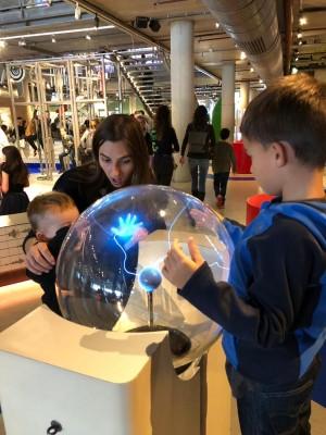 Experiência no NEMO Museum em Amsterdam