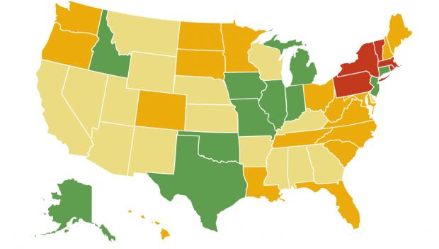 Como funciona o homeschooling em cada estado dos EUA