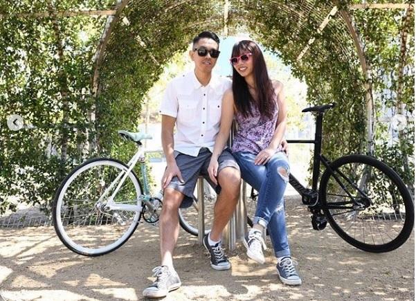 Reprodução/ Instagram @cycling.couple