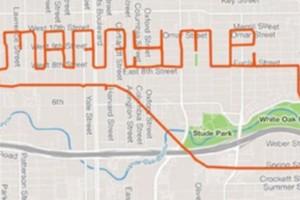 Marry me bike map Credit: Jon Blaze and Thao Nguyen