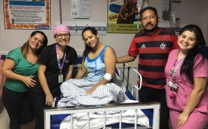 Família do bebê Jander Gaell | Arquivo Pessoal: Karla Campos