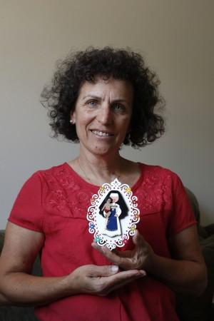 Zéti Marques da Silveira, devota de Santa Dulce dos Pobres | Foto: Jonathan Campos