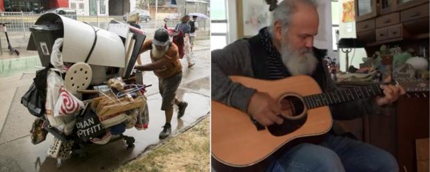 Após viver nas ruas por duas décadas, homem é reconhecido por amigos que lhe dão abrigo