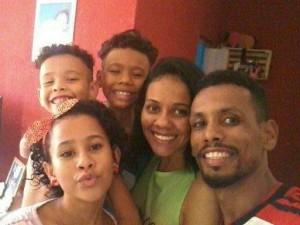 Daniel pensou nos seus filhos quando viu o desespero da passageira. Foto: Arquivo pessoal/Daniel de Oliveira